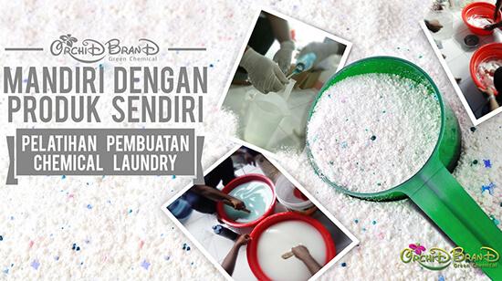 pelatihan usaha laundry chemical