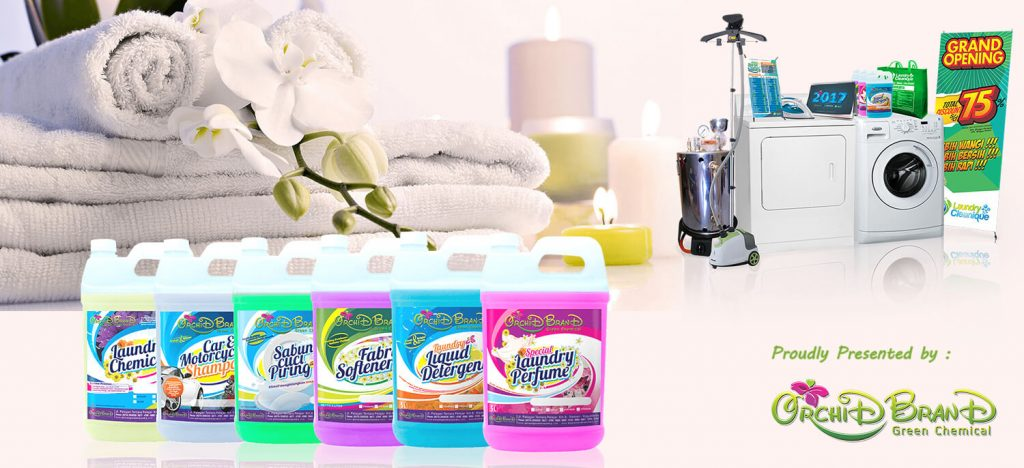 Orchid Brand Bisnis Laundry Kiloan